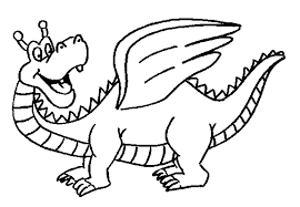 Dragon Coloring Pages For Kids Coloring Me