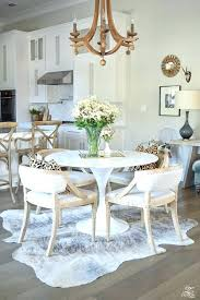 should you put a rug under a dining room table rug under round dining table area