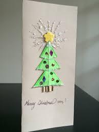 Diy Christmas Cards Diy Christmas Card Kids Craft