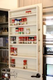 How To Build A Spice Rack Amazing Ana White Door Spice Rack DIY Projects