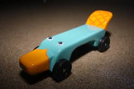 pinewood derby race cars perry the platypus pinewood derby car perry the platypus flickr