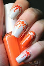 Best 25+ Orange nail art ideas on Pinterest | Orange nail, Spring ...