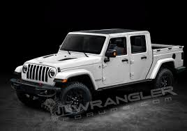 2018 jeep jl. interesting 2018 2019 jeep wrangler pickup rendering by jl forums and 2018 jeep jl