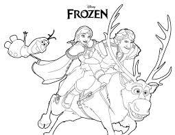 Elegante Disegni Disney Da Colorare Anna Migliori Pagine Da