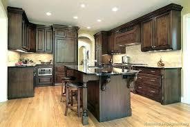 kitchens with dark countertops traditional dark wood walnut kitchen black granite backsplash best backsplash for marble countertops white cabinets black