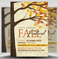 Fall Festival Flyers Template Free Fall Flyers Rome Fontanacountryinn Com