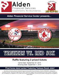 Win Yankees VS Red Sox Tickets!