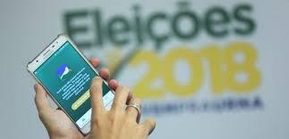 Resultado de imagem para imagem de aplicativo eleitora