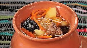 Китайские супы Суп Хорда с черносливом
