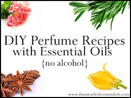 essential oil perfume recipes without alcohol