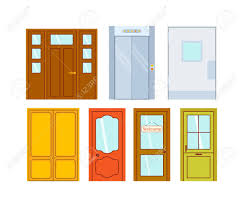 open front door welcome. The Best Set Of Color Isolated On White Colorful Front To Open Door Welcome Popular And U