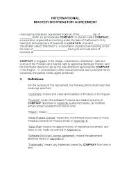 Reseller Contract Template End User Agreement Template Fabulous