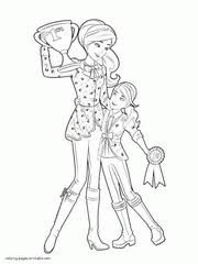 See more ideas about barbie coloring pages, barbie coloring, coloring pages. Barbie Coloring Pages 300 Free Sheets For Girls