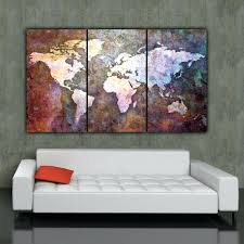 world map canvas wall art zoom