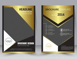 Design Brochure Template Brochure Design Template With Modern Style Background