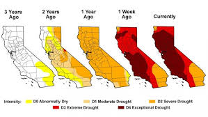 Image result for The U.S. Drought Monitor shows nearly 40 percent of the state of California remains in exceptional drought