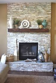 Small Picture Stacked Stone Fireplace Designs 25 Best Ideas About Stacked Stone