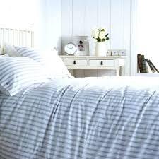 blue striped duvet cover the gray stripe grey with regard to elegant household pinstripe ideas linen