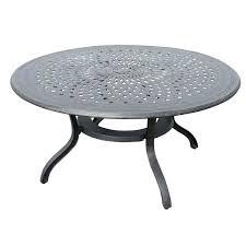 60 inch round patio table inch round patio table cover hollow cast aluminum inch round