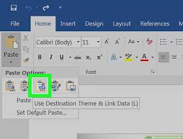 Export Excel Chart To Jpg How To Convert Excel To Word 15 Steps With Pictures Wikihow