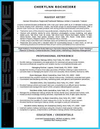 Cosmetology Resume Samples Best Of Cool Artist Resume Template That ...