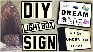 make your own light box letter sign easy and inspired you