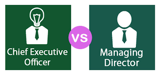 chief executive officer vs managing