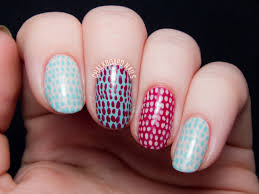 Quick and Simple Scaled Nail Art [VIDEO TUTORIAL]   Chalkboard ...