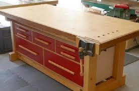 diy shaker workbench plans