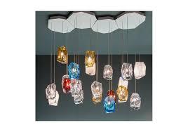 crystal rock lasvit pendant lamp