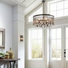 living stunning large foyer chandeliers 3 for bmorebiostat chandelier lighting extra pendant low ceiling entryway brushed