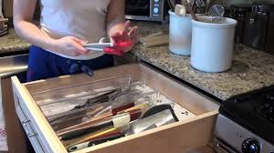 Kitchen Drawer Organization Kitchen Drawer Organization Youtube
