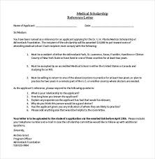 Letter Of Recommendation For Scholarship Adorable 48 Letters Of Recommendation For Scholarship PDF DOC Free