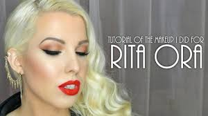 rita ora makeup tutorial the s and techniques i used when doing her makeup