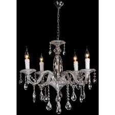 french provincial lighting. Chrome French Provincial Chandeliers - 5 Light Berlin Lighting
