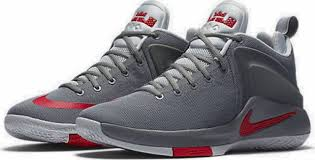 lebron red shoes. new nike lebron zoom witness men\u0027s sneakers gray red shoes 10 -13 lebron