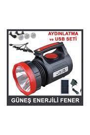 Gold Siyah Kırmızı El Feneri Gs-345 Fiyatı, Yorumları - TRENDYOL