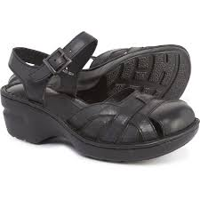b o c maple clogs leather for women in black leather