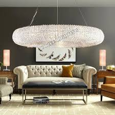modern chandeliers lighting round crystal chandelier halo hanging light for home hotel living and dining room crystal halo chandelier