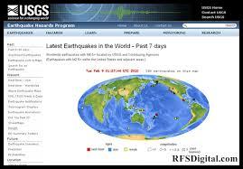 Earhtquakes (Sismos y Terremotos) en tiempo real, a nivel mundial