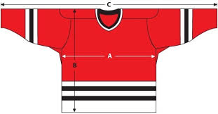 Nike Nhl Jersey Size Chart 48 Logical Ccm Hockey Jersey Sizing Chart