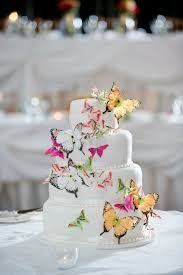 Butterfly Wedding Cake Woes Weddings Style And Décor Wedding