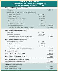 Sample Cash Flow Statement 24 example of statement of cash flows Registration Statement 24 1