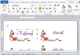 photo card maker templates thanksgiving place cards maker template for word excel templates