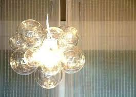 bubble light fixture bubbles as pull chain glass fixtures
