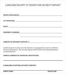 Rent Deposit Receipt Template Uk Mrstefanik Info