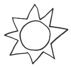Small Picture Sun Coloring Pages 7 Coloring Kids