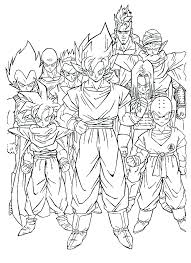 Small Picture Kids n funcom 55 coloring pages of Dragon Ball Z