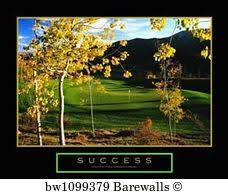 Success Posters 34 Golf Motivational Posters And Art Prints Barewalls