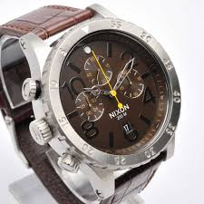 48 20 chrono leather brown gator a363 1887 a3631887 zoom